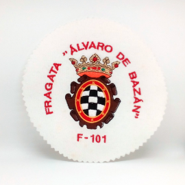"""Fragata """"Alvaro de Bazán"""" F-101"""