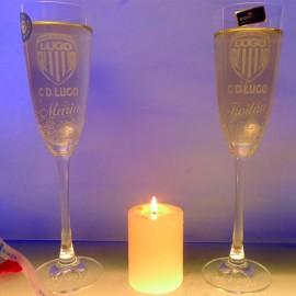 Club Deportivo Lugo copas champan