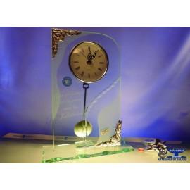 reloj cristal jubilacion