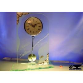 reloj cristal bodas de oro