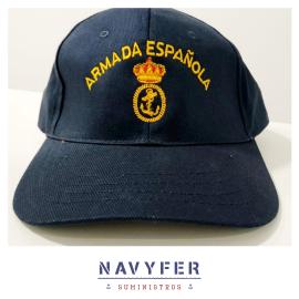 Gorra oficial de la Armada Española