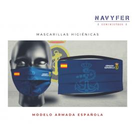 Pack de mascarillas Armada Española