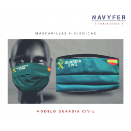 Mascarilla Guardia Civil