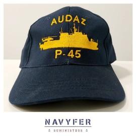 Gorra buque Audaz P-45