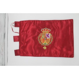 Bandera Casa Real 20x30cm