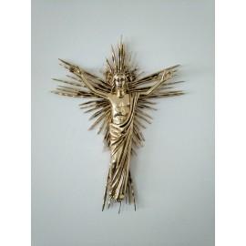 Cristo del Sol figura de bronce