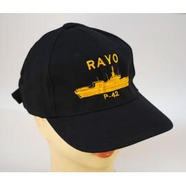 "Gorra Oficial B.A.M ""RAYO"" - P-42"