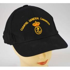 """Gorra Oficial """" Cuartel General de Canarias """""""