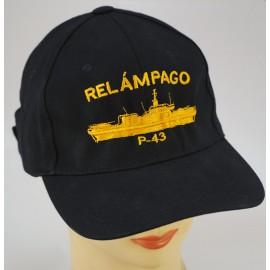 """Gorra Oficial B.A.M. """"RELÁMPAGO"""" P-43"""