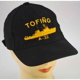 """Gorra Oficial Buque hidrográfico """" Tofiño"""" A 32"""