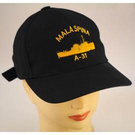 """Gorra Oficial Buque Hidrográfico """" Malaspina"""" A- 31"""