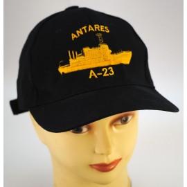 """Gorra Oficial Buque Hidrográfico """" Antares"""" A- 23"""