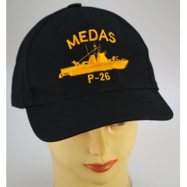 """Gorra Oficial Patrullero """"Medas"""" P-26"""